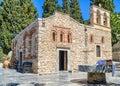 Church of Panagia kera, Crete - Greece Royalty Free Stock Photo