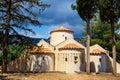 The church Panagia Kera in the village Kritsa, Crete Royalty Free Stock Photo