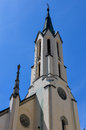 Church of passau in old german historical city Stock Photos