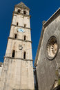 Church in Perast Montenegro Stock Photography