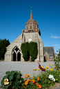 Church in Perros-Guirec Stock Photography
