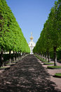 Church of Peterhof Palace Stock Photography