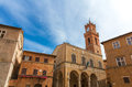 Church Pienza Royalty Free Stock Photo