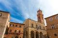 Church Pienza Royalty Free Stock Photo