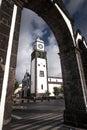 Church of Ponta Delgada - Azores Portugal Sao Miguel Ponta Delga