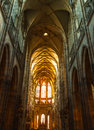 Church prague beautiful architecture inside the in Royalty Free Stock Photos
