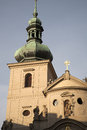 Church, Prague; Czech Republic Royalty Free Stock Image