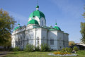 The Church of the Presentation of the Lord's in autumn day . Rybinsk, Yaroslavl region Royalty Free Stock Photo