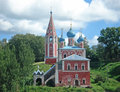 Church of prince dmitry on the blood russia Stock Photography