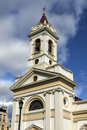 Church in punta arenas chile the center of Royalty Free Stock Images