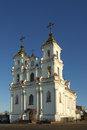 Church of the resurrection in vitebsk belarus orthodox Stock Image