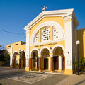Church, Rhodes island, Greece Royalty Free Stock Photo