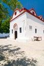 Church, Rhodes island, Greece Royalty Free Stock Photo