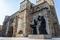 Church romanesque zamora in the capital of historical city Stock Photo