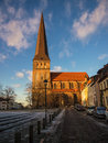 Church a in rostock germany Stock Images
