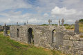 Church ruins in Arranmore, Ireland Royalty Free Stock Photo
