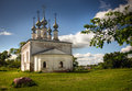 Church russian traditional Arkivbild
