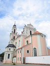 Church of saint catherine one of the many beautiful churches in lithuania vilnius august Royalty Free Stock Photo