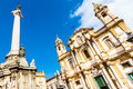 Church of saint dominic palermo italy in is the second in importance only to the cathedral and is located in the Royalty Free Stock Photos