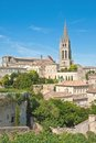 Church of Saint-Emilion Royalty Free Stock Photos