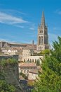 Church of Saint-Emilion,  France Royalty Free Stock Photography