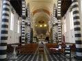 CHURCH OF SAINT JOHN THE BAPTIST, MONTEROSSO AL MARE, ITALY Royalty Free Stock Photo