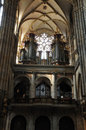 Church Saint Vitus Cathedral in Prague Royalty Free Stock Photography