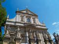Church of Saints Peter and Paul, Krakow,  Poland Royalty Free Stock Photo
