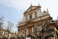 Church saints peter paul old town district krakow poland Stock Photography