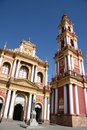 Church in Salta, Argentina Royalty Free Stock Photography
