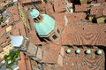 Church of san bartolomeo and gaetano view from above the in bologna italy Stock Photos