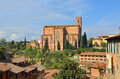 Church of San Domenica Siena Stock Image