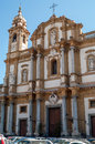Church of san domenico palermo Royalty Free Stock Photography