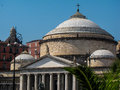 Church of San Francesco di Paola, Naples, Italy Royalty Free Stock Photo