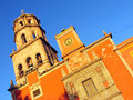 Church of San Francisco in Queretaro, Mexico. Royalty Free Stock Photography