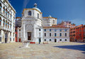 Church san geremia in venice italy and palazzo labia Royalty Free Stock Photography