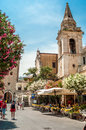 Church of san giuseppe taormina Royalty Free Stock Image