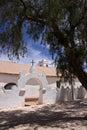 Church in San Pedro de Atacama - Chile Royalty Free Stock Photo
