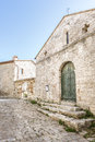 Church in San Quirico Royalty Free Stock Photography