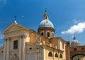 Church san rocco in rome italy Royalty Free Stock Photos