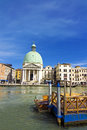 Church of san simeone piccolo venice Royalty Free Stock Image