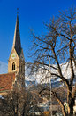 Church Sankt Nikolaus, Innsbruck, Austria Stock Photo