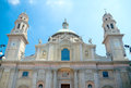 Church of sant alessandro in zebedia milan italy saint alexander bergamo Stock Photos