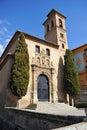 Church Of Santa Ana In Granada...