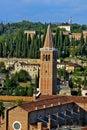 Church of Santa Anastasia in Verona, Italy Royalty Free Stock Photo