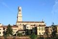 Church Santa Anastasia in Verona Royalty Free Stock Photo