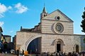 Church of Santa Chiara - Assisi Royalty Free Stock Photo