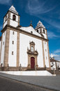 Church of santa maria da devesa castelo de vide portugal Stock Photo