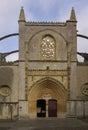 Church of Santa Maria de Lekeitio, Basque Country, Spain Royalty Free Stock Photo