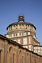 The church of Santa Maria delle Grazie - Milan - Royalty Free Stock Photo